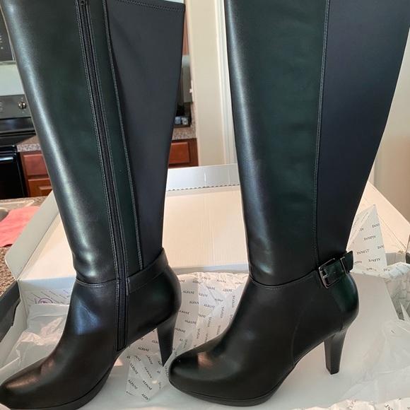 Alfani Shoes | Nwt Wide Calf Boots